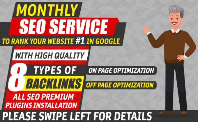 monthly SEO backlinks manual link building service for google top ranking
