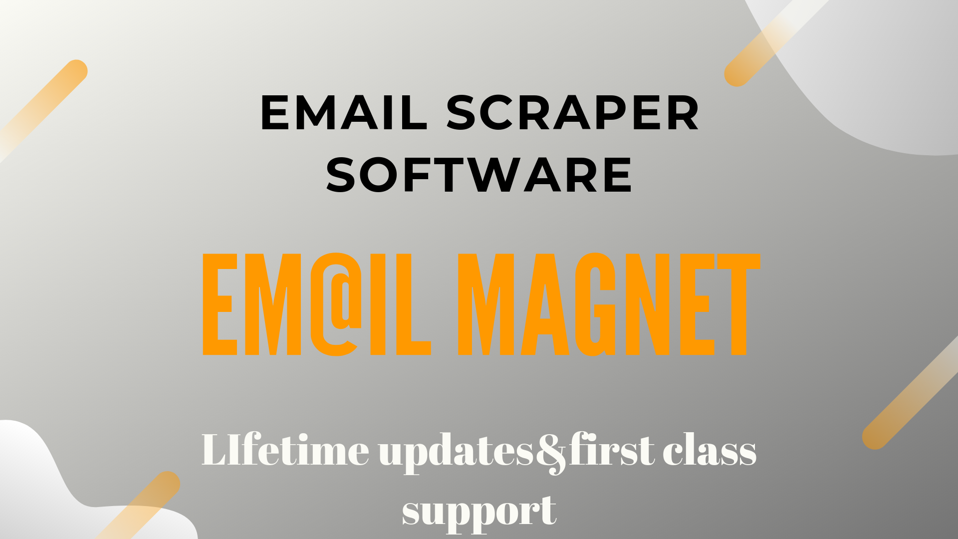 Email magnet Scrape thousands of emails in matter of minutes