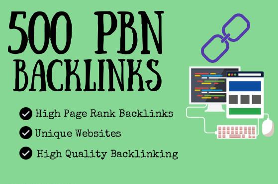 500 pbn backlinks tier 1 and tier 2