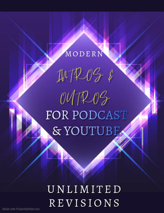 Create custom podcast intro and outro