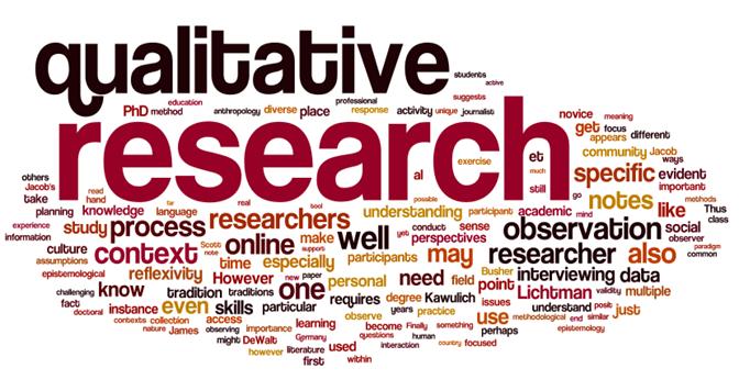 I will do qualitative analysis