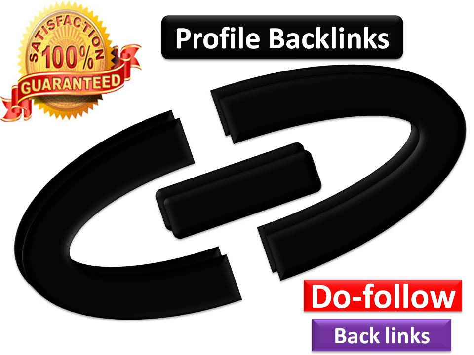 shoot your site on top with best Quality 5 Profile Back links and fast delivery