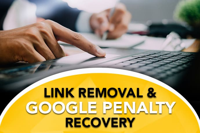 I will identify,  remove and disavow bad links