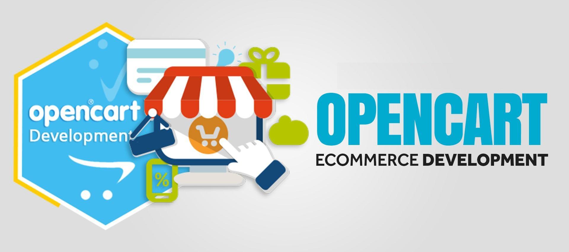 I will create,  customize,  fix,  seo,  opencart e commerce website