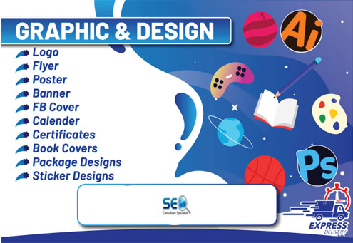 I will be your personal graphic designer