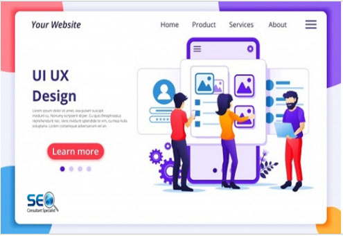 I will design responsive UI UX of your website and Landing Page