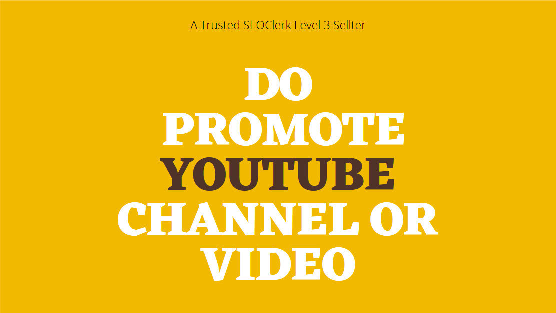 Help You Grow and promote Your YouTube Marketing