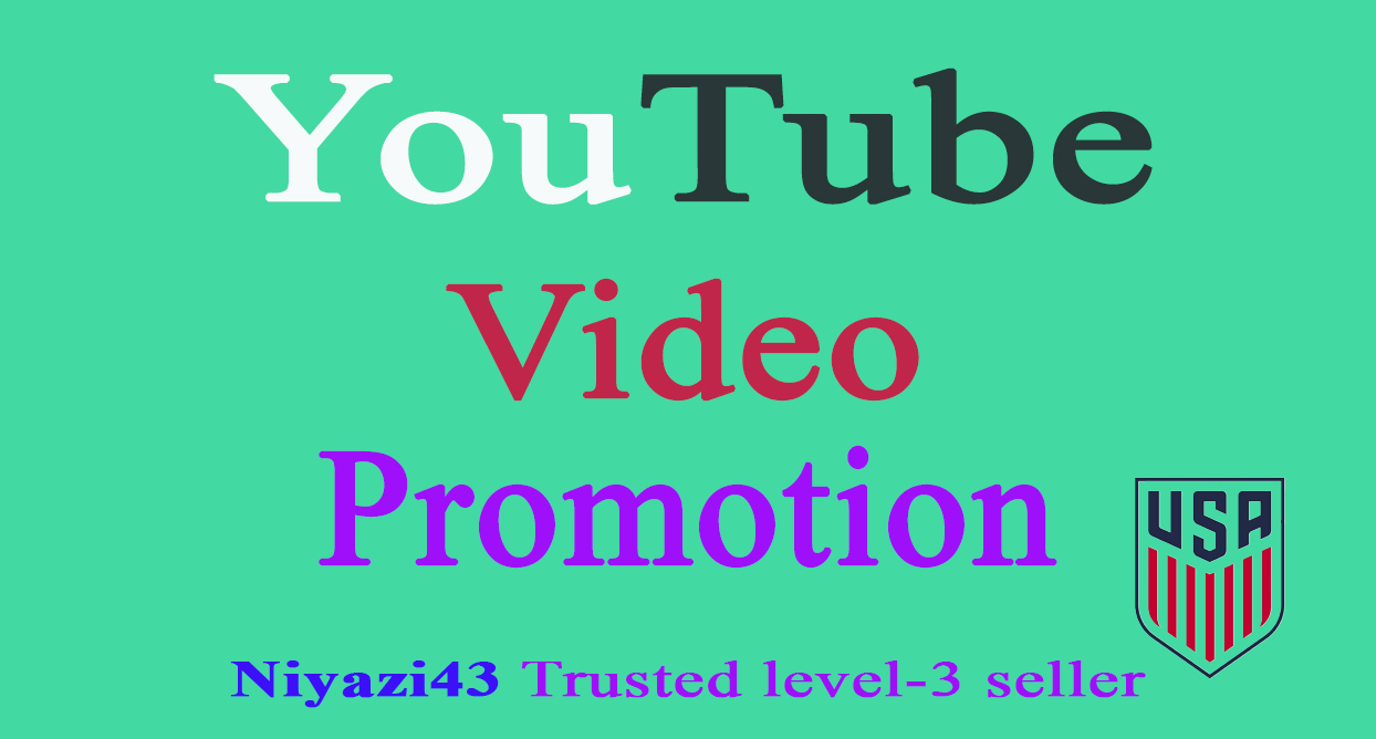 BOOST YOUR YOUTUBE VIDEO PROMOTION WITH REAL AUDIENCE