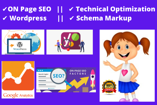 I will do Wordpress site ON Page SEO Optimization and GOOGLE RANK