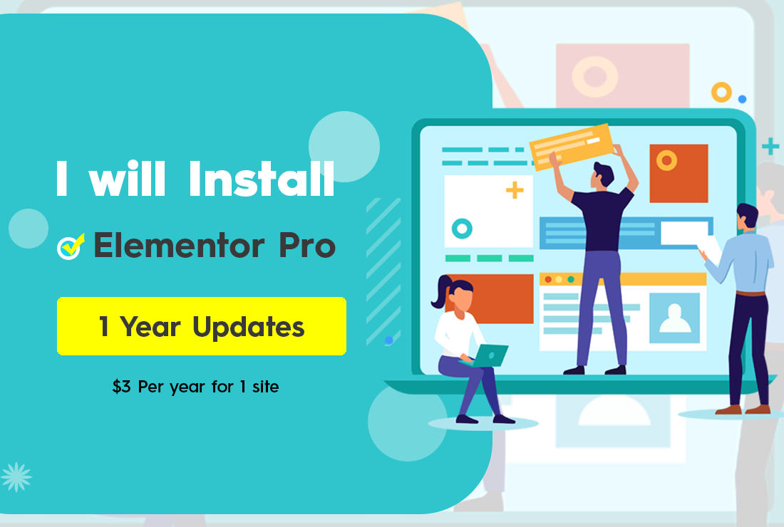 Install Elementor pro on your Wordpress site with Official License