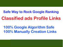 Safe 40 Classified Profile Links to Rank 1 On internet