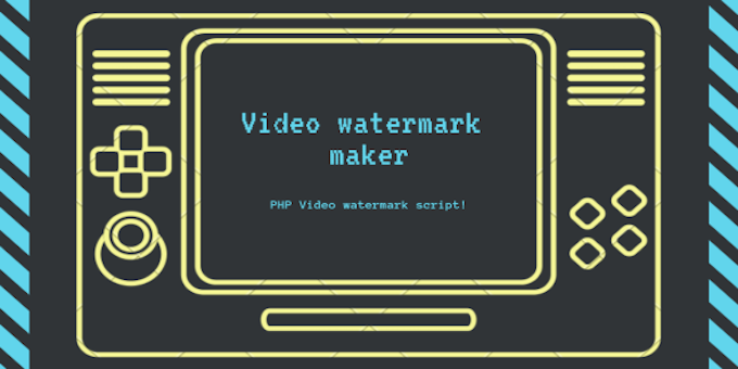Video Watermark Marker - PHP Video Watermark Script
