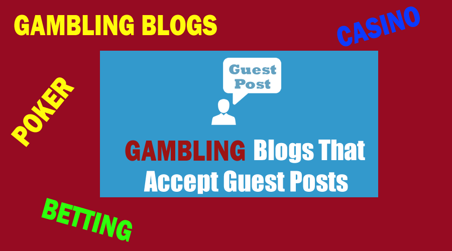 Publish guest post my gambling blog DR 72 permanent backlink boost ranking on google