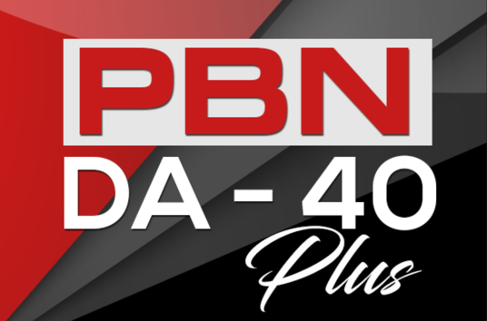 5 PBN DA 40+ Homepage Backlinks