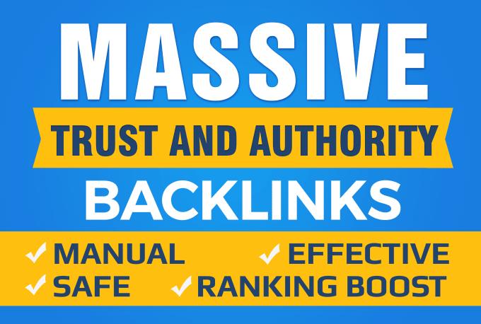 Provide 50 Pr9 High Authority SEO Backlinks rank 1