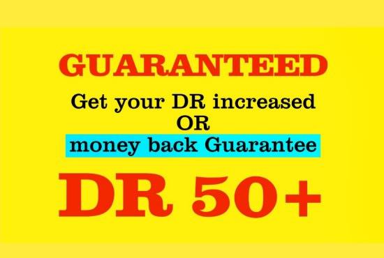 increase casino poker website domain rating DR ahrefs domain authority da tf
