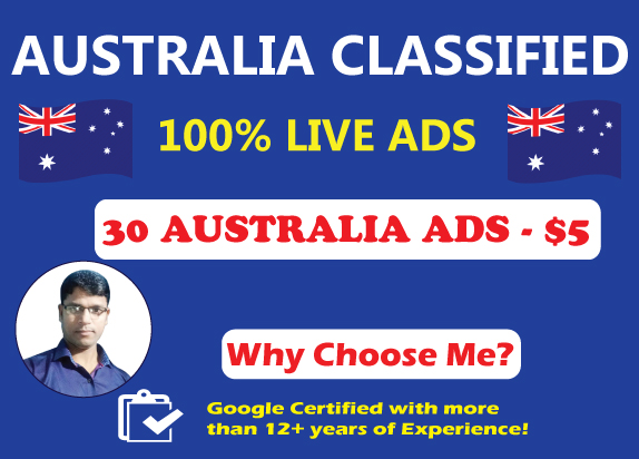 Post 30 High Authority Australia Classified Ads to Drive Traffic & Sales