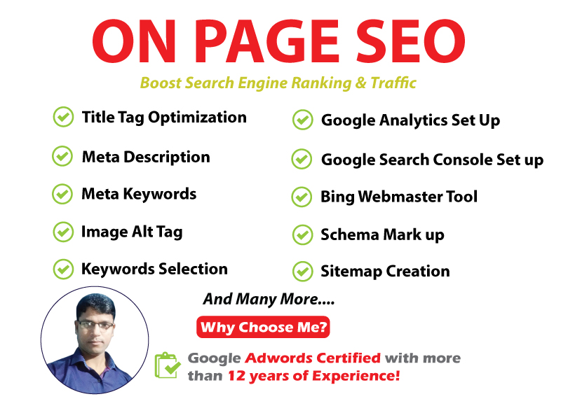 Advance On Page SEO Optimization for Best Google Ranking & Traffic