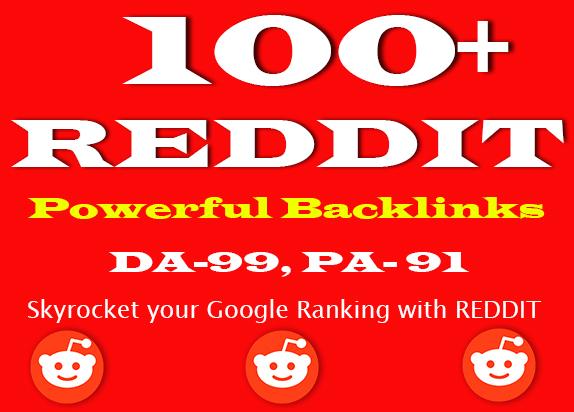 100+ Super Powerful DA-99 Strong REDDIT Backlinks for Top Google Ranking