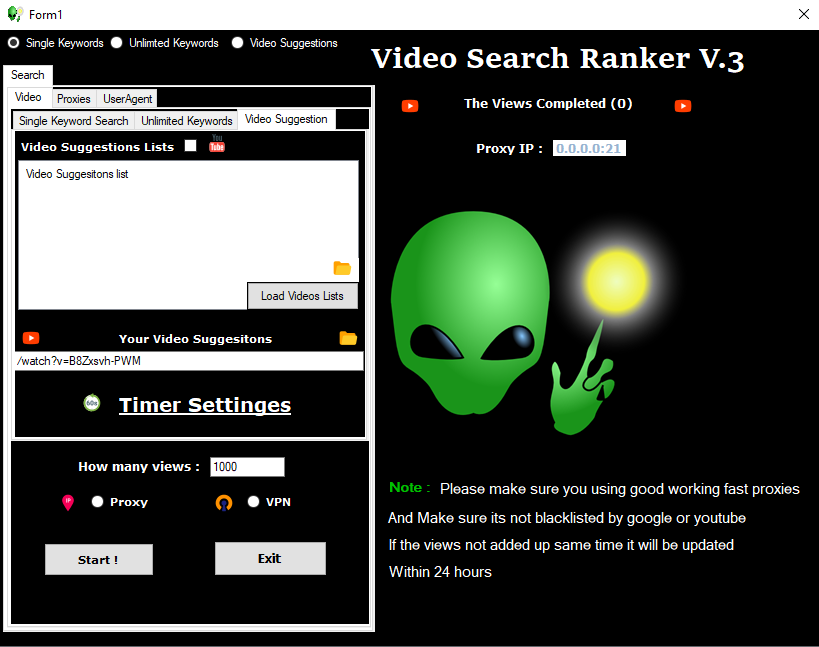 UTube - Video Search Engine Ranker V3.0