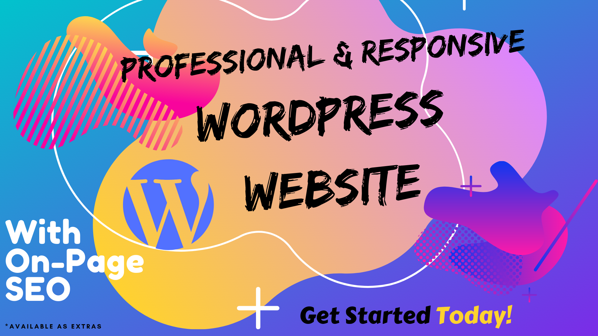 Create A Professional Wordpress Website with on-page Seo