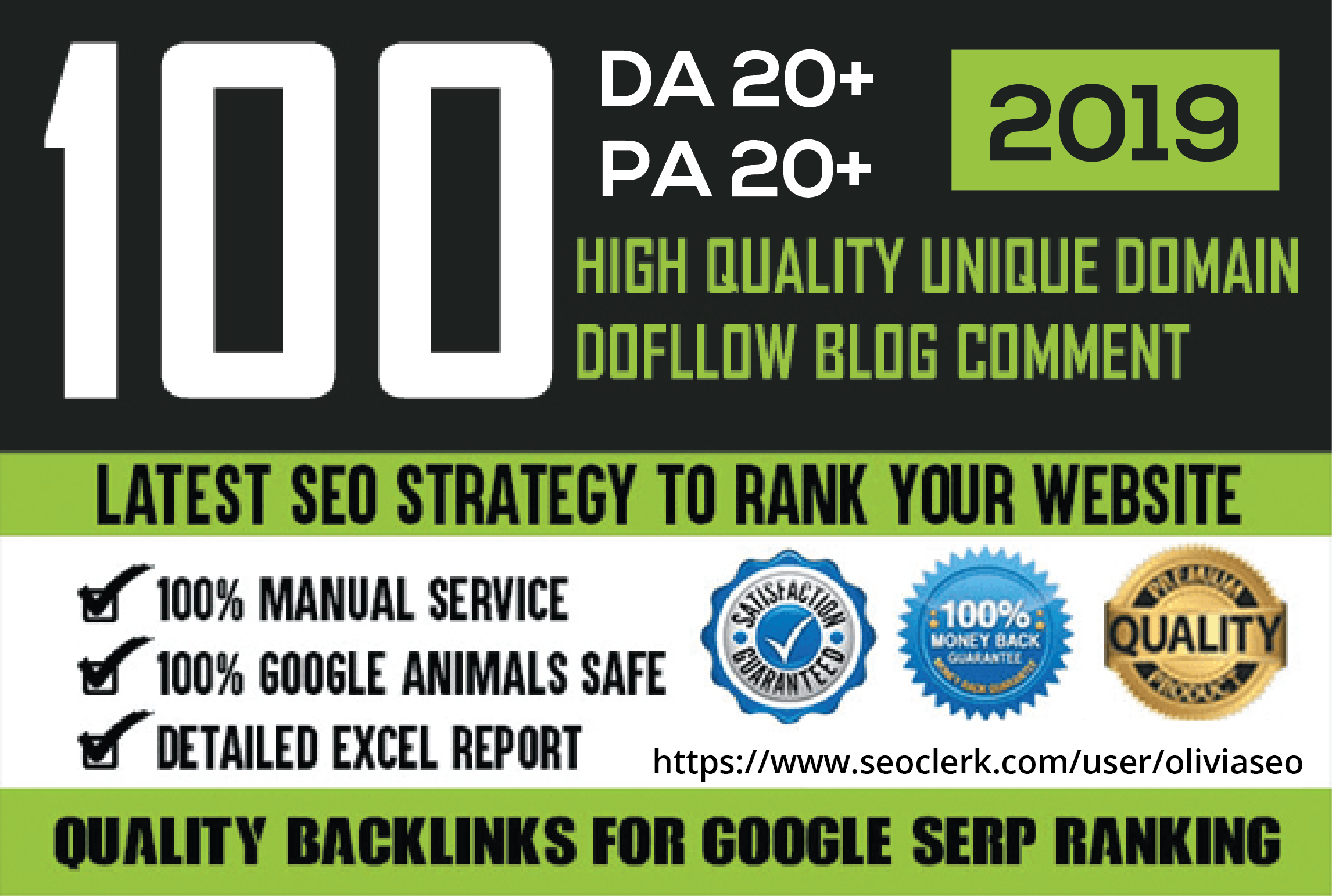 Manually Do 100 Unique Domain Blog Comments With High Da Pa