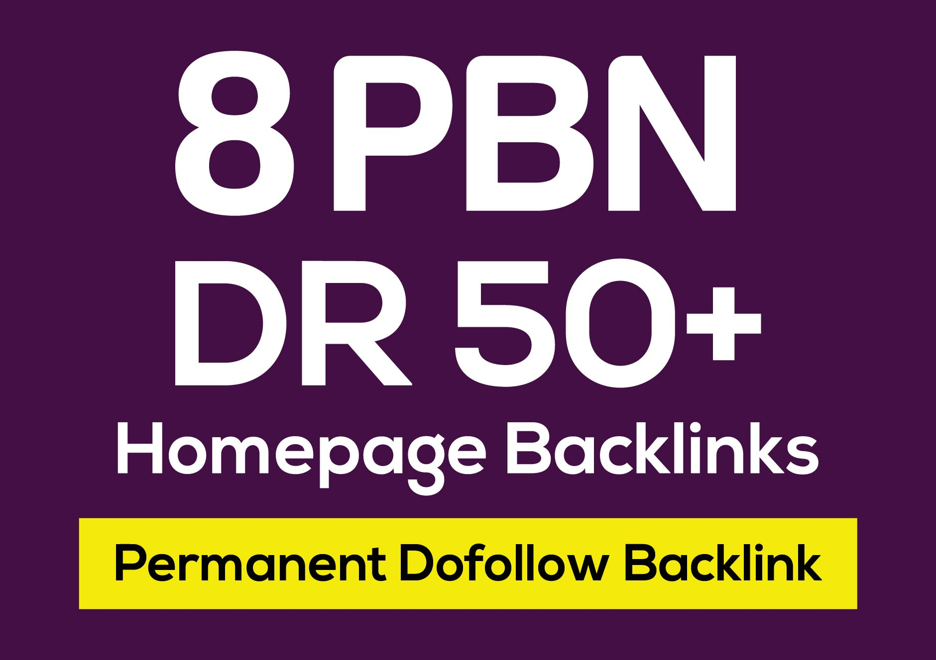 8 DR 50 to 80 PBN Homepage Dofollow Backlink