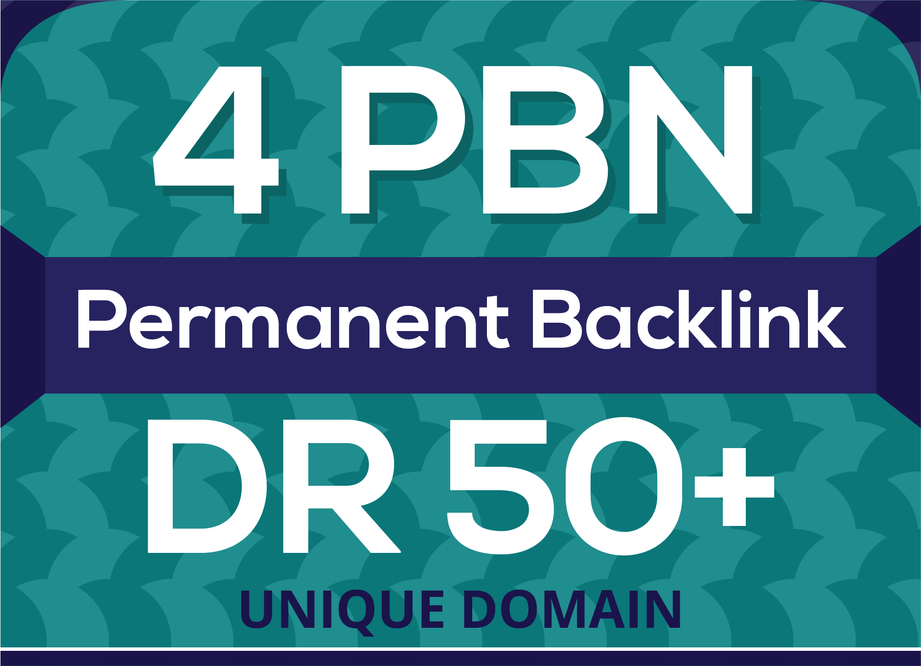 4 Permanent DR 50+ homepage pbn backlinks for seo