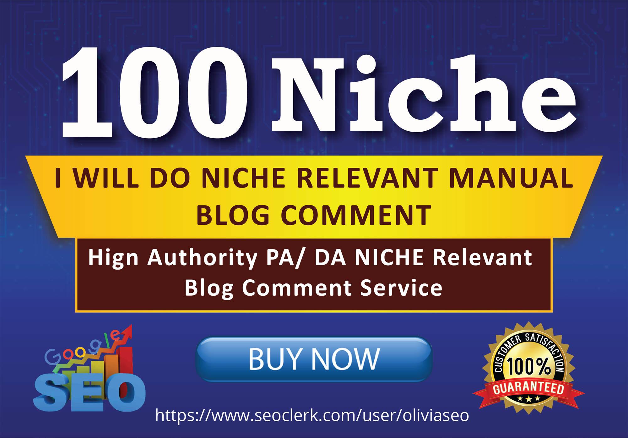 Do 100 High Quality Niche Relevant Blog Comments Backlinks