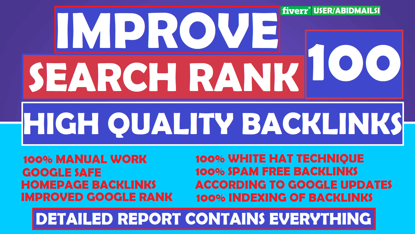 I will provide 10 days offpage SEO service to rank first in google