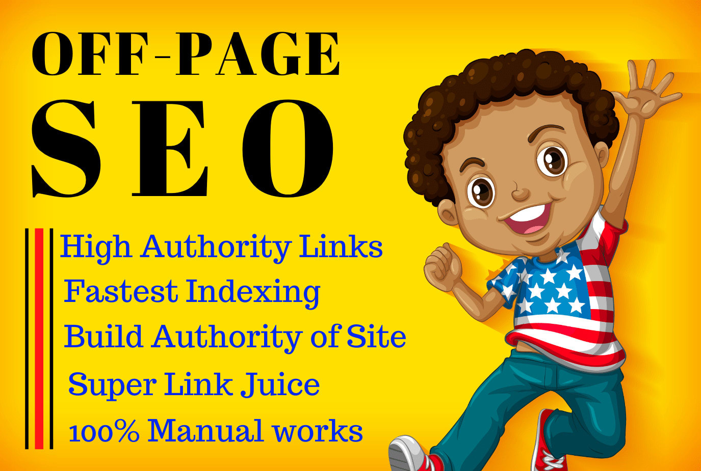 I will do monthly offpage 30 seo backlinks to rank on google first page