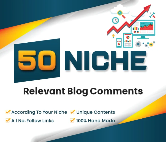 Provide 50 Niche Manual Blog Commenting All are nofollow