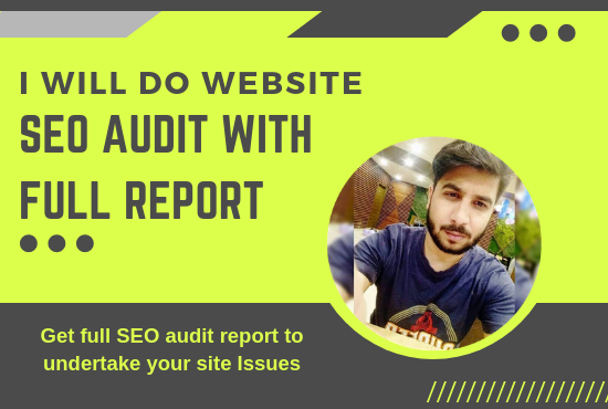 Audit your site with deep research and get full report with solutions