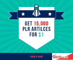 Get 15,000 Quality PLR Articles