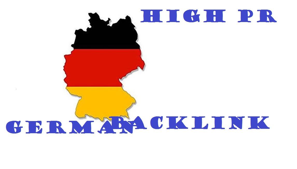 Permanent 25 German High PR Backlinks Top deutsche SEO DE Forum