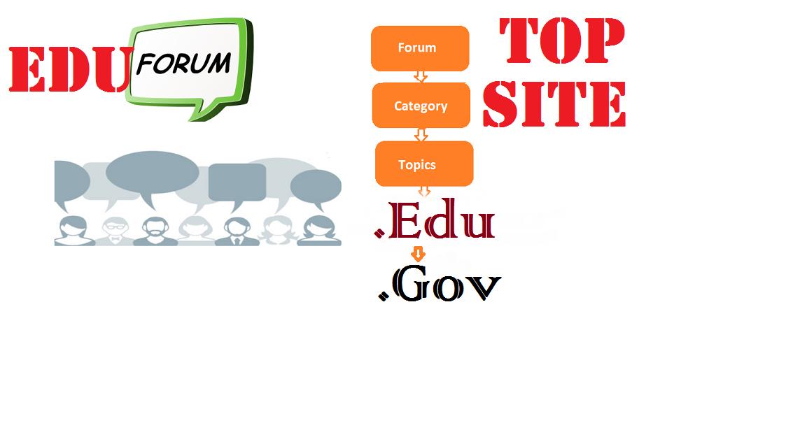 Build 12 Awesome Forum Edu Gov Backlinks,  Link pyramid SEO