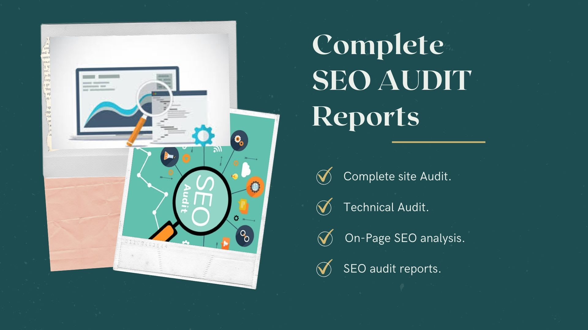I will provide expert SEO audit report, competitor website audit, analysis and action