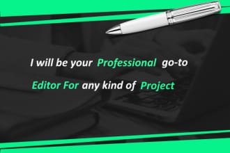 Proofread Up To 5000 Words under 10Hours,1000 words for $2
