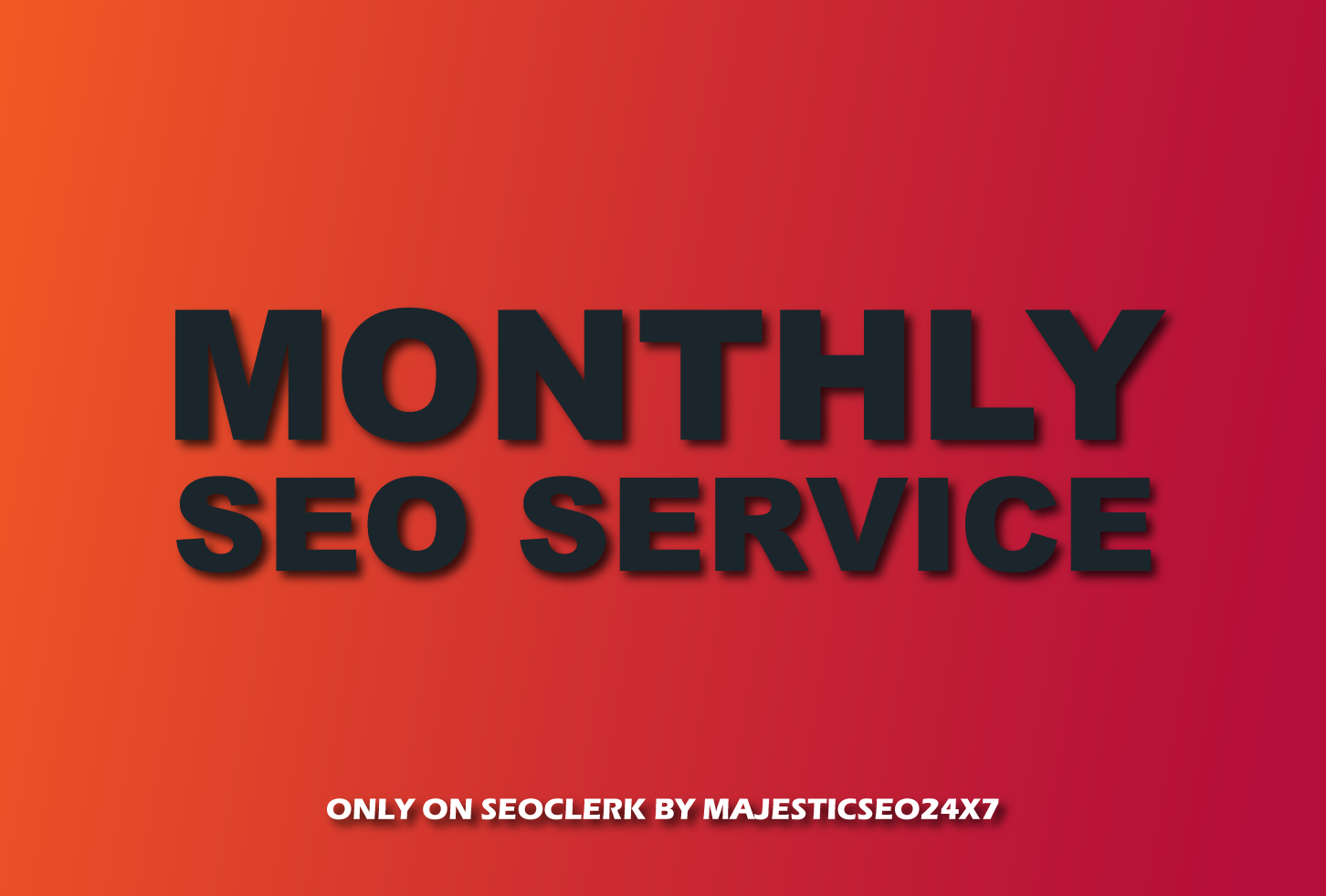 Monthly SEO Service - Whitehat High Authority Backlinks To Improve Your Ranking Toward Page 1