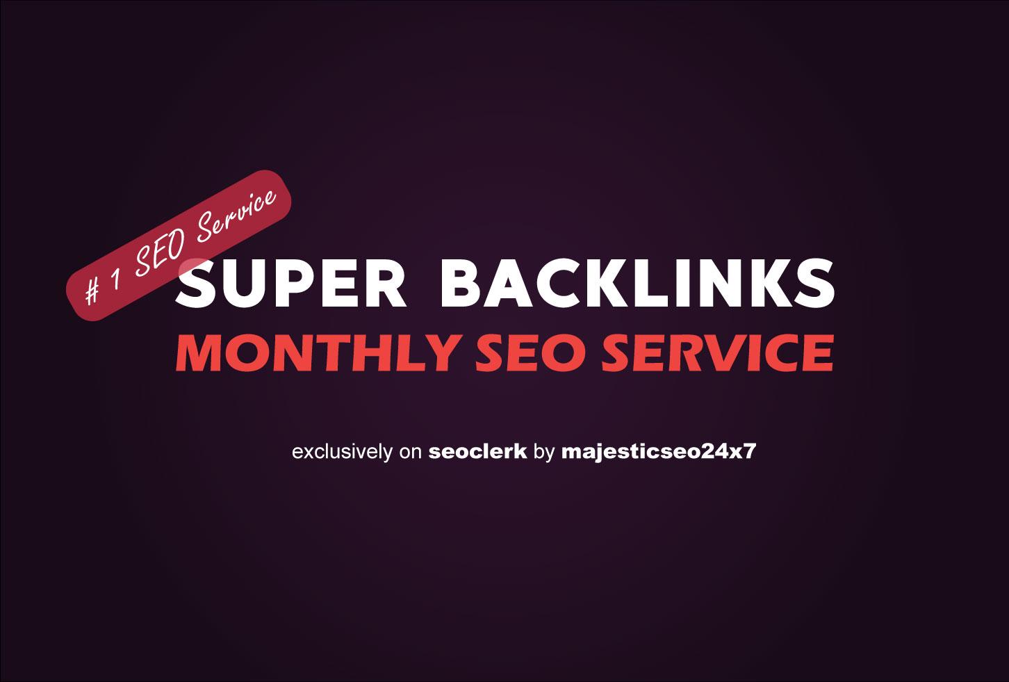 Manually Create high DA super Whitehat Backlinks for Website Ranking