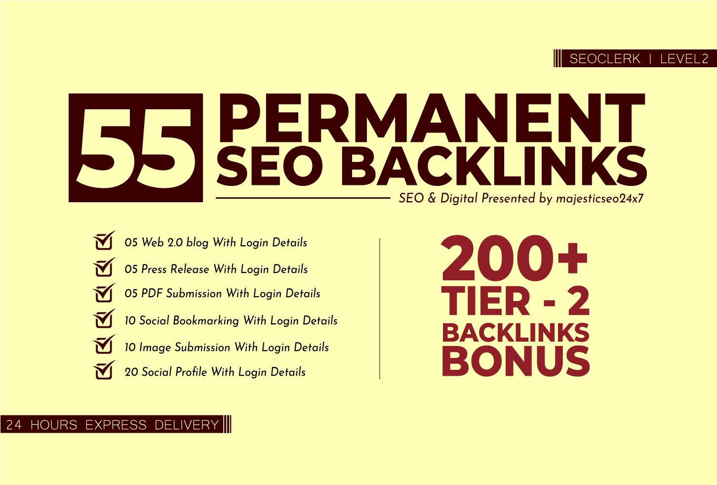 SUPER POWER PERMANENT SEO BACKLINKS WITH LINK BUILDING SERVICE