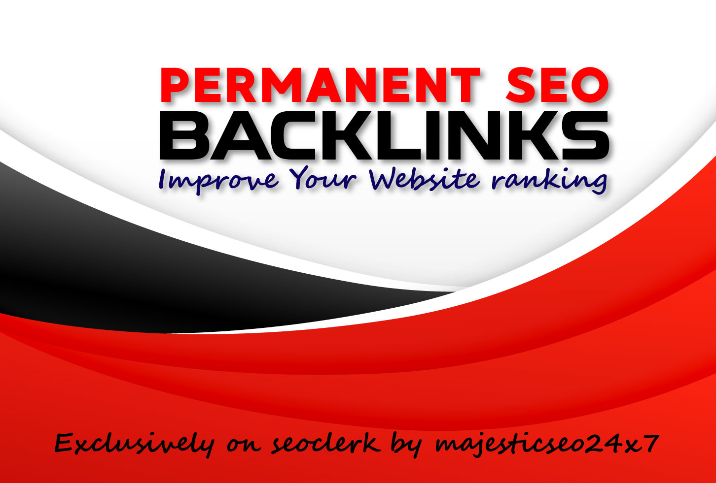 65 permanent SEO backlinks with link building for high google ranking