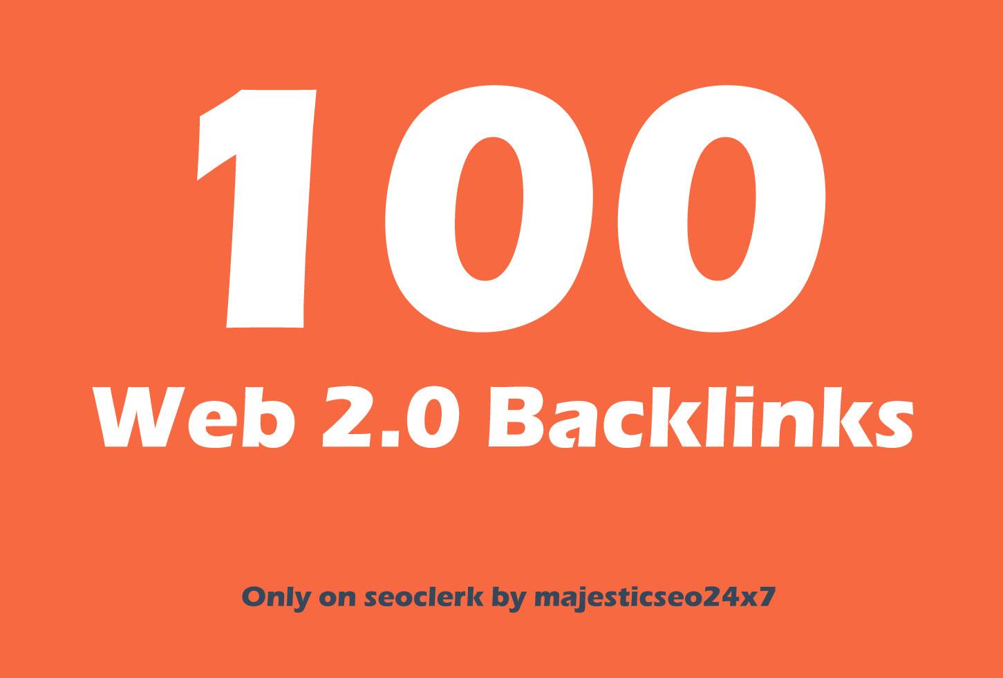 Publish 100 Web 2.0 Blog Post backlink for Website Ranking