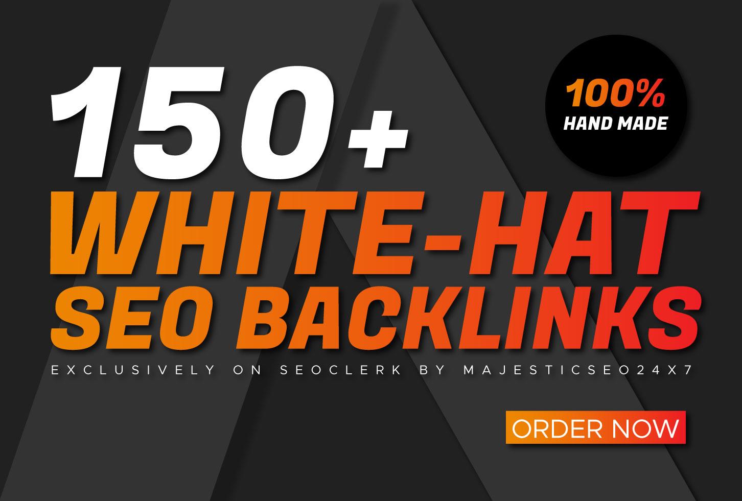 150+ PREMIUM High DA 70+ Google safe Backlinks