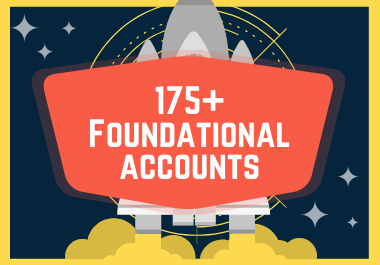 175+ Foundational Account Backlinks With Logins