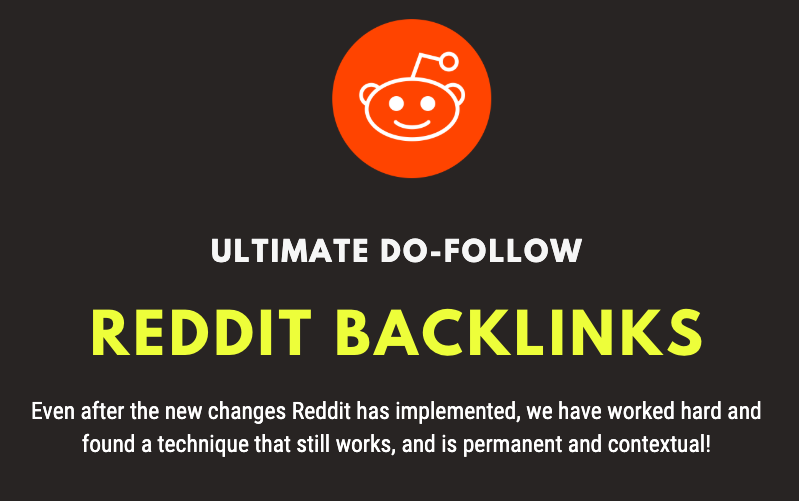 Do-Follow Reddit Backlinks - Fast Indexing - Quick Delivery - Updated 2020