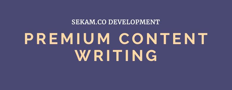 Premium Content Writing - A* Grade Writers - Fast TAT