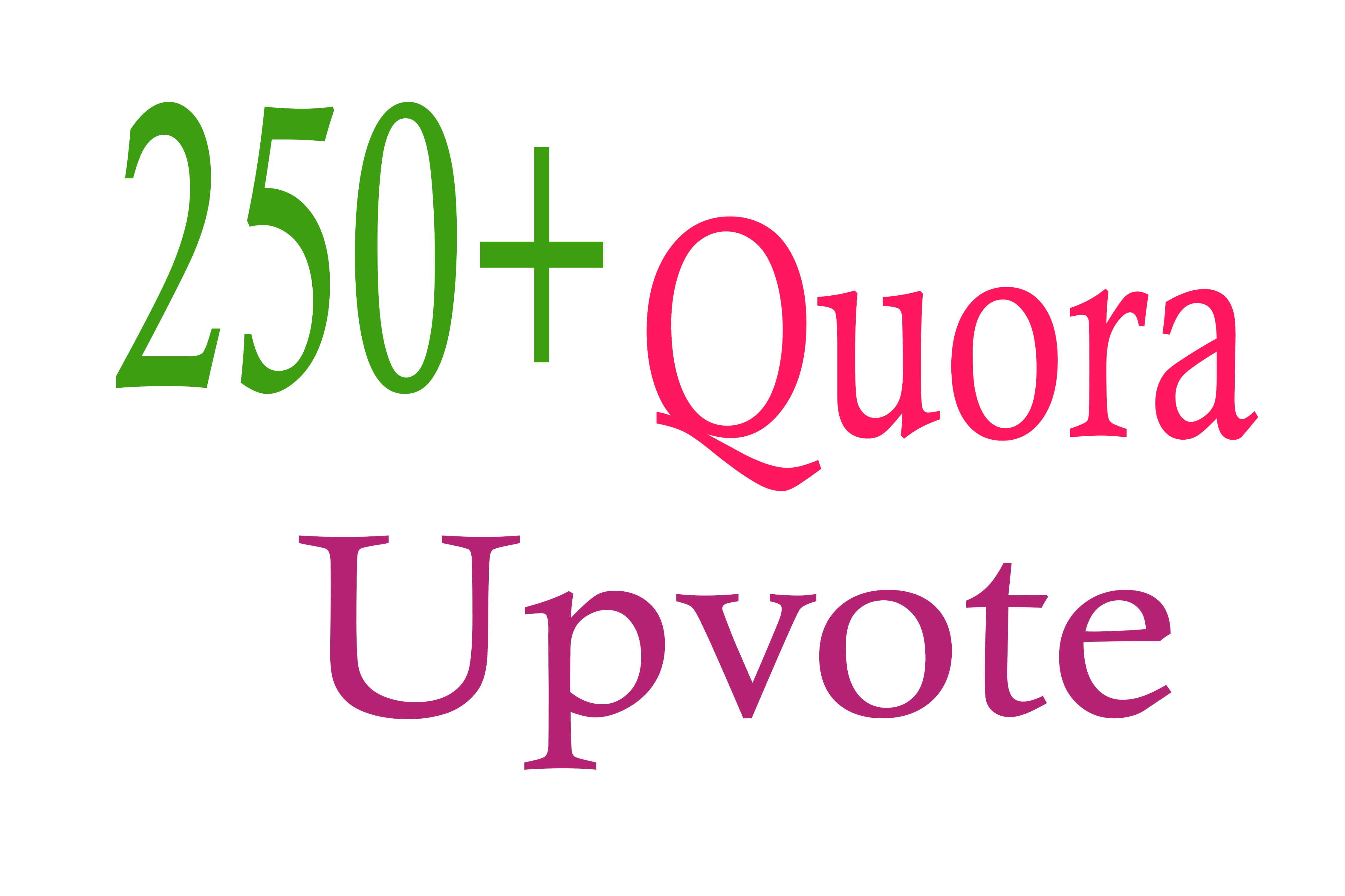 250+ Quora Upvote for your question