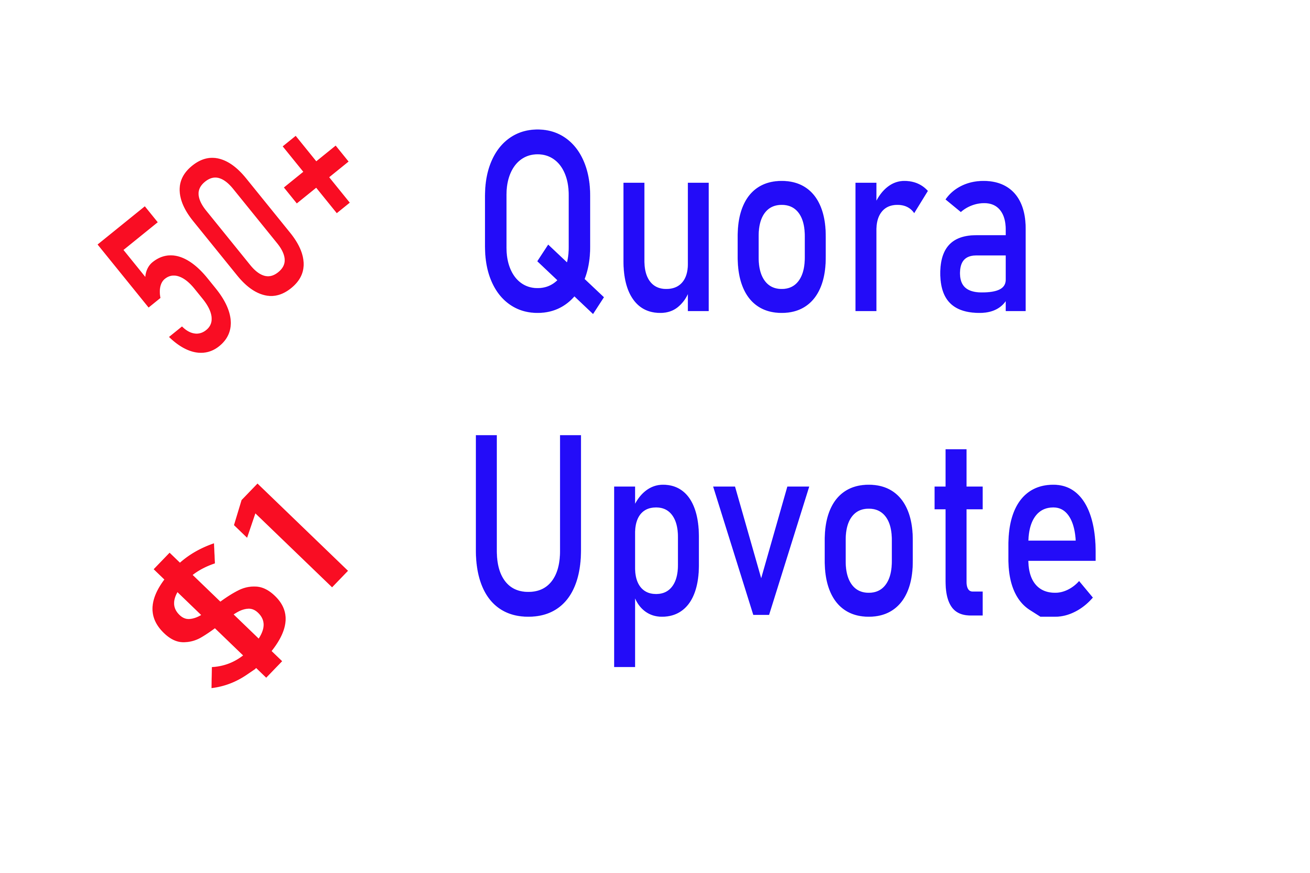 50+ Quora Upvote to your answer