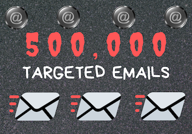 500,000 Keyword Targeted New Emails
